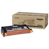 Тонер-картридж XEROX (113R00725) Phaser 6180/6180MFP, желтый, оригинальный, ресурс 8000 стр.