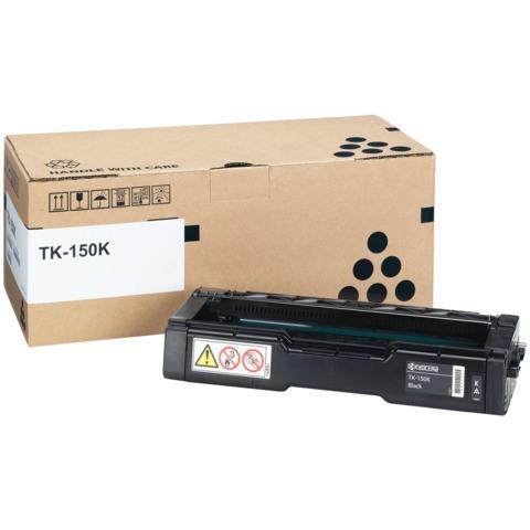 Тонер-картридж KYOCERA (TK-150K) FS-C1020MFP/FS-C1020MFP+, оригинальный, ресурс 6500 стр.