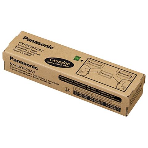 Тонер-картридж PANASONIC(KX-FAT472A7) MB2110/2130/2137/2170, оригинальный, ресурс 2000 страниц