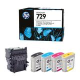 Комплект для замены печатающей головки HP (F9J81A) Designjet T830/T730, №729, оригинальный