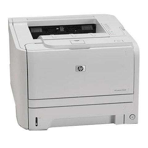 Принтер лазерный HP LaserJet P2035, А4, 30 стр./мин., 25000 стр./мес., без кабеля USB, CE461A