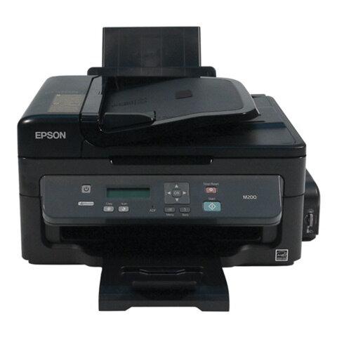 МФУ струйное монохромное EPSON M200 (принтер, копир, сканер), A4, 1440x720, 34 стр./мин., СНПЧ, АПД, сетевая карта, C11CC83311