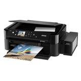 МФУ струйное EPSON L850 (принтер, копир, сканер), А4, 5760х1440 dpi, 37 стр./мин, с СНПЧ, печать фото без ПК, C11CE31402