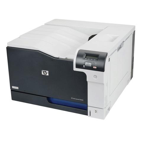 Принтер лазерный ЦВЕТНОЙ HP Color LaserJet CP5225n, А3, 20 стр./мин, 75000 стр./мес., сетевая карта (без кабеля USB), CE711A