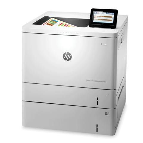 Принтер лазерный ЦВЕТНОЙ HP Color LaserJet M553x, А4, 38 стр./мин, 80000 стр./мес., дополнительный лоток, ДУПЛЕКС, Wi-Fi, с/к, B5L26A