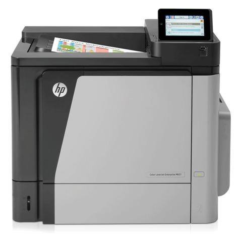 Принтер лазерный ЦВЕТНОЙ HP Color LaserJet Enterprise M651n, А4, 42 стр./мин, 120000 стр./мес., сетевая карта (без кабеля USB), CZ255A