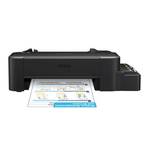 Принтер струйный EPSON L120, А4, 8,5 страниц/минуту (ч/б), 4,5 страниц/минуту (цв), C11CD76302