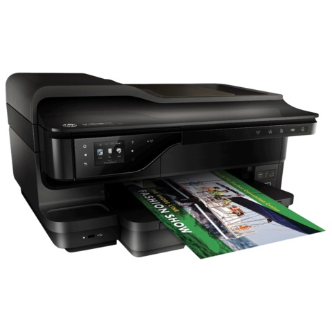 МФУ струйное HP Officejet 7612 (принтер, сканер, копир, факс), A3, 4800х1200, 15 стр./мин, 12000 стр./мес., ДУПЛЕКС, Wi-Fi, с/к, G1X85A
