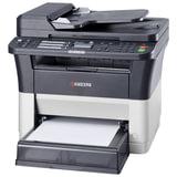 МФУ лазерное KYOCERA FS-1125MFP (принтер, копир, сканер, факс), А4, 25 стр./мин, 20000 стр./мес, ДУПЛЕКС, АПД, с/к (б/к USB), 1102M73RU2
