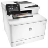 МФУ лазерное ЦВЕТНОЕ HP LaserJet Pro M477fdw (принтер, сканер, копир, факс), А4, 27 с./мин, 50000 с./мес, АПД, ДУПЛЕКС, с/к, Wi-Fi, CF379A