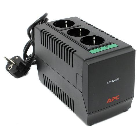Стабилизатор напряжения APC Line-R LS1000-RS, 1000 ВА (500 Вт), 3 розетки, входное напряжение 180-280 В