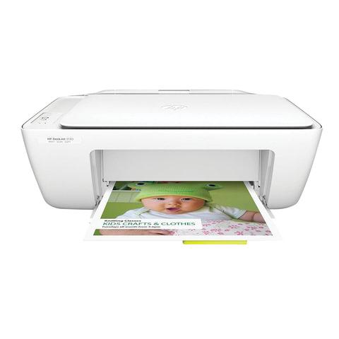 МФУ струйное HP Deskjet 2130 (принтер, сканер, копир), A4, 4800х1200, 20 стр./мин (без кабеля USB), K7N77C