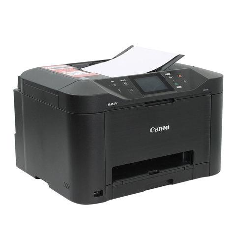 МФУ струйное CANON MAXIFY MB5140 (принтер, сканер, копир, факс), А4, 600х1200, 24 стр./мин., 30000 стр./мес.,АПД,Wi-Fi,ДУПЛЕКС,с/к, 0960C007