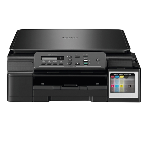 МФУ струйное BROTHER InkBenefit Plus DCP-T500W (принтер, сканер, копир), A4, 6000x1200, 11 стр./мин., Wi-Fi, с СНПЧ, DCP-T500WR