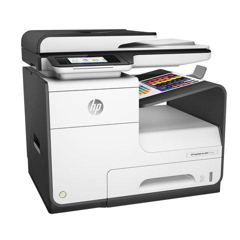 МФУ струйное HP PageWide Pro 477dw (принтер, сканер, копир, факс), A4, 2400х1200, 40 стр./мин., 50000 стр./мес., ДУПЛЕКС,Wi-Fi с/к, D3Q20B