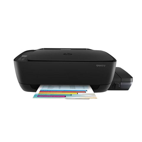 МФУ струйное HP DeskJet GT 5820 (принтер, копир, сканер), А4, 4800х1200, 8 стр./мин., 1000 стр./мес., WI-FI, с СНПЧ, X3B09A