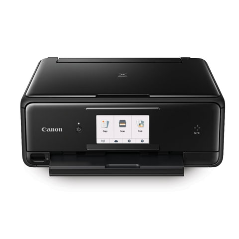 МФУ струйное CANON PIXMA TS8040 (принтер, копир, сканер), А4, 15 стр./мин, 9600х2400, ДУПЛЕКС, WI-FI, 1369c007