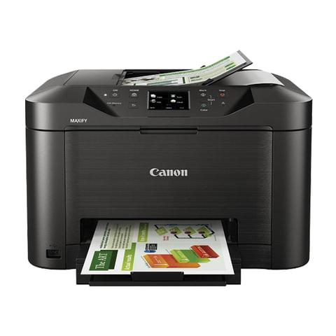 МФУ струйное CANON MAXIFY MB2140 (принтер, сканер, копир, факс), А4, 600х1200, 19 стр./мин., 20000 стр./мес., ДУПЛЕКС, Wi-Fi, с/к, 0959C007