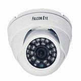 """Камера AHD купольная FALCON EYE FE-ID720AHD/20M, 1/4"""", внутренняя, цветная, 1280x720, белая"""