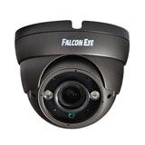 "Камера AHD купольная FALCON EYE FE-IDV720AHD/35M, 1/3"", уличная, цветная, 1280х960, регулируемый фокус, серая"