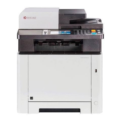 МФУ лазерное ЦВЕТНОЕ KYOCERA M5526cdw (принтер, сканер, копир, факс), A4, 26 стр./мин., 50000 стр./мес., АПД, ДУПЛЕКС, WI-FI с/кар, 1102R73NL0