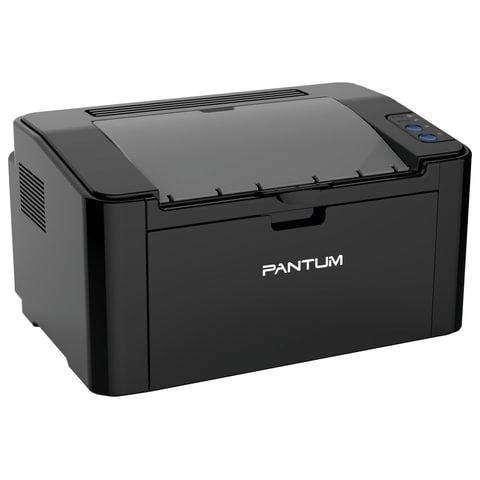 Принтер лазерный PANTUM P2207, А4, 20 стр./мин., 15000 стр./мес.