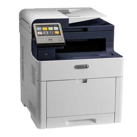 МФУ лазерное ЦВЕТНОЕ XEROX WorkCentre 6515N (принтер, сканер, копир, факс), А4, 28 стр./мин., 50000 стр./мес., АПД, сетевая карта, 6515V_N