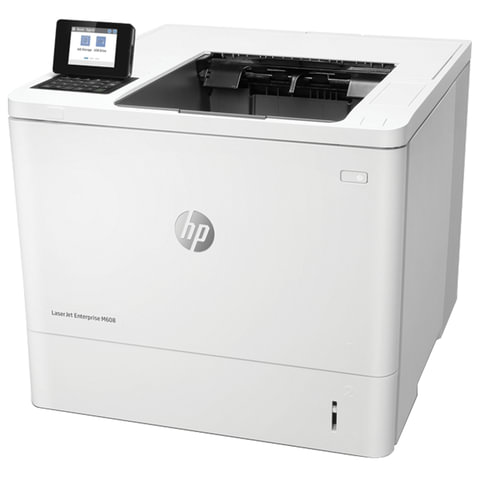 Принтер лазерный HP LaserJet Enterprise M608dn, А4, 61 стр./мин., 275000 стр./мес., ДУПЛЕКС, сетевая карта, K0Q18A