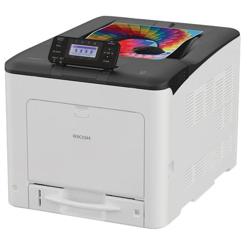 Принтер лазерный ЦВЕТНОЙ RICOH SP C360DNw, А4, 30 стр./мин., 75000 стр./мес., сетевая карта, Wi-Fi, дуплекс, 408167
