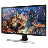 """Монитор SAMSUNG U28E590D 28"""" (71,1 см), 3840x2160, 16:9, TN, 1ms, 370cd, HDMI, DP, черный, LU28E590DS/RU"""