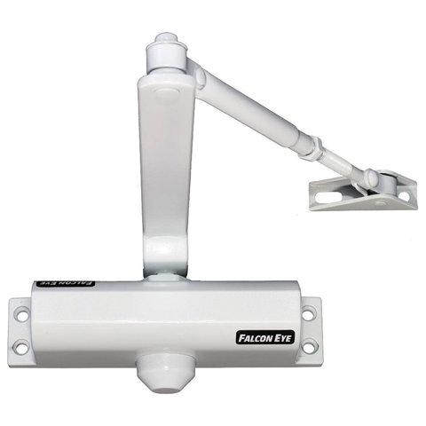Доводчик FALCON EYE FE-B2W на дверь 25-45 кг, белый, 00-00110303