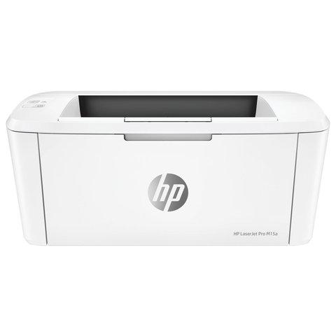Принтер лазерный HP LaserJet Pro M15a, А4, 18 стр./мин, 8000 стр./месяц, W2G50A