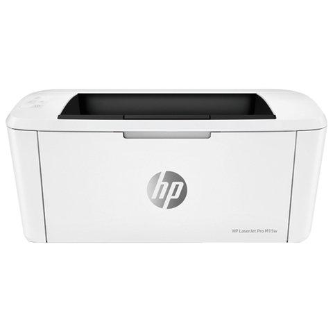 Принтер лазерный HP LaserJet Pro M15w, А4, 18 стр./мин, 8000 стр./мес., Wi-Fi, W2G51A