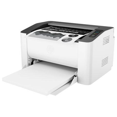 Принтер лазерный HP Laser 107w, А4, 20 стр/мин, 10000 стр/мес Wi-Fi, 4ZB78A