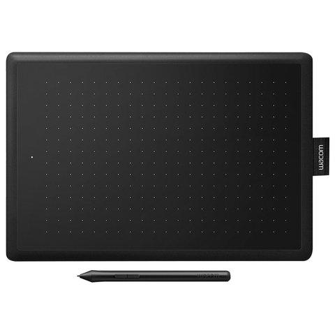 Планшет графический WACOM One medium CTL-672-N, 2540 LPI, 2048 уровней, (А5) 216x135, USB, черный