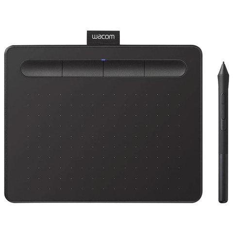 Планшет графический WACOM Intuos S CTL-4100K-N, 2540LPI, 4096 уровней, (А6) 152х95, USB, черный