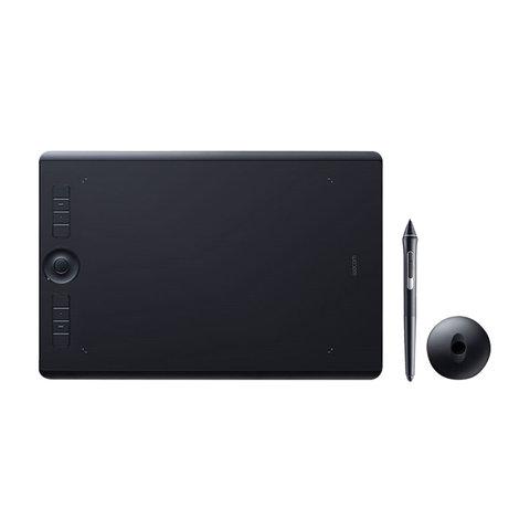 Планшет графический WACOM Intuos Pro M PTH-660-R 5080LPI, 8192 уровней, (А5) 224x148, USB, BT, черный