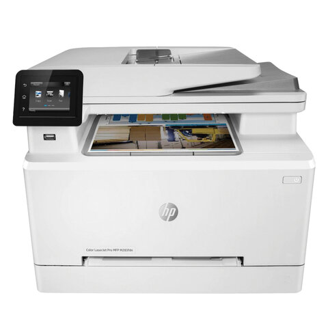 МФУ лазерное ЦВЕТНОЕ HP Color LaserJet Pro M283fdn