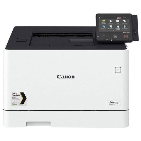 Принтер лазерный ЦВЕТНОЙ CANON i-SENSYS LBP664Cx, А4, 27 стр/мин, 50000 стр/мес, ДУПЛЕКС, сетевая карта, Wi-Fi, 3103C001