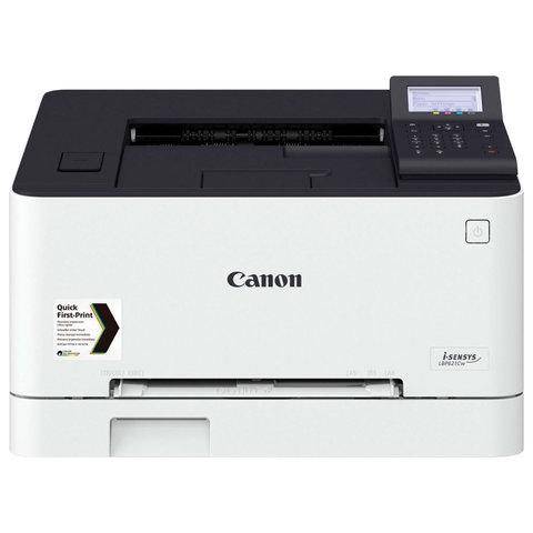 Принтер лазерный ЦВЕТНОЙ CANON i-SENSYS LBP621Cw, А4, 18 стр/мин, 30000 стр/мес, сетевая карта, Wi-Fi, 3104C007