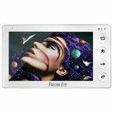 """Видеодомофон FALCON EYE Cosmo Plus, дисплей 7"""" TFT, механические кнопки, белый, 00-00124396"""