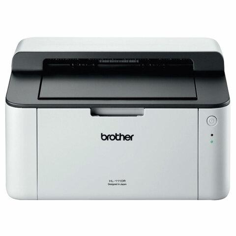 Принтер лазерный BROTHER HL-1110R, A4, 20стр/мин, 2400x600 dpi, HL1110R1