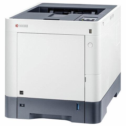 Принтер лазерный ЦВЕТНОЙ KYOCERA ECOSYS P6230cdn А4, 30 страниц/мин, ДУПЛЕКС, сетевая карта, 1102TV3NL1