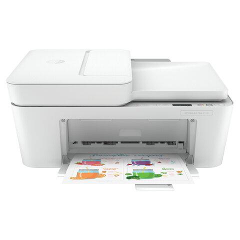 МФУ струйное HP DeskJet Plus 4120, 4 в 1, А4, 8,5 стр/мин, 1000 стр/мес, АПД, WiFi, 3XV14B