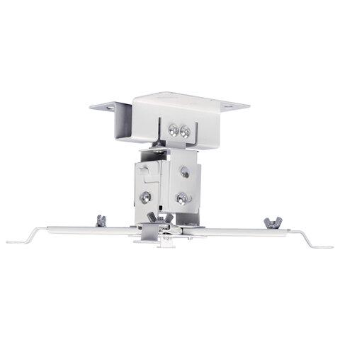 Кронштейн для проекторов настенно-потолочный CACTUS CS-VM-PREC01-WT белый, 23 кг