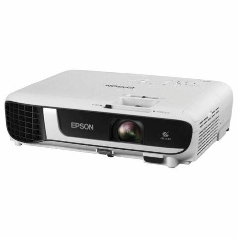 Проектор EPSON EB-W51, LCD, 1280x800, 16:10, 4000 лм, 16000:1, 2,5 кг, V11H977040