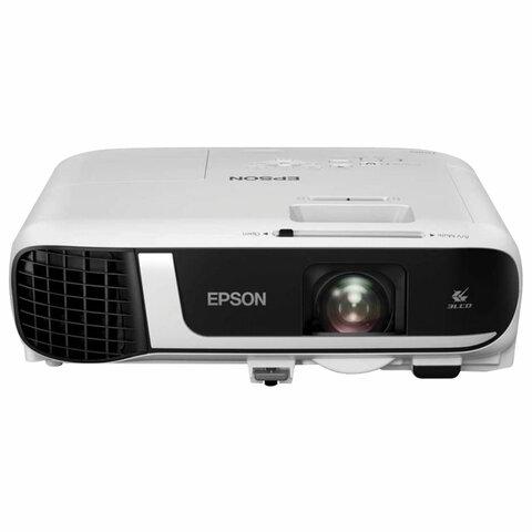 Проектор EPSON EB-FH52, LCD, 1280x1080, 16:9, 4000 лм, 16000:1, 3,1 кг, V11H978040