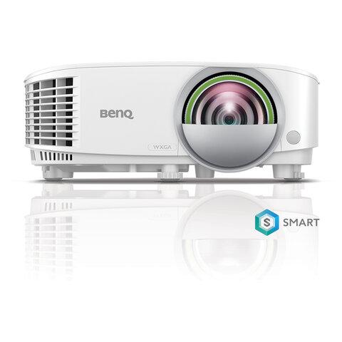Проектор BENQ EW800ST, DLP, 1280x800, 16:10, 3300 лм, 20000:1, короткофокусный, 2,6 кг, 9H.JLX77.14E