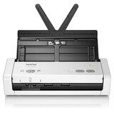 Сканер потоковый BROTHER ADS-1200, А4, 25 стр./мин, 1200x1200, ДАПД, ADS1200