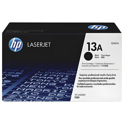 Картридж лазерный HP (Q2613A)  LaserJet 1300/1300N, №13А, ориг., ресурс 2500 стр.